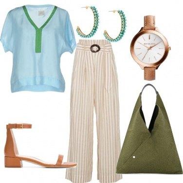Outfit Elegante freschezza