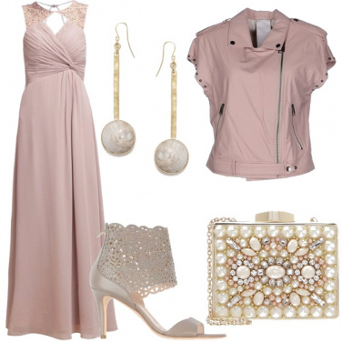 Outfit Debuttante in rosa