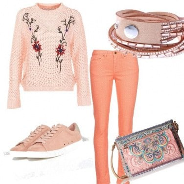 Outfit Romantic peach