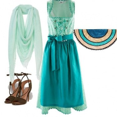 Outfit E verde si