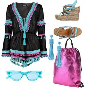 Outfit Passeggiando in riva al mare