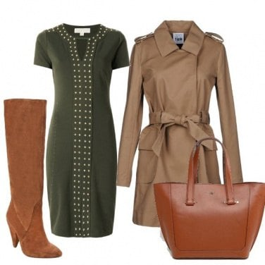 Outfit Il classico trench