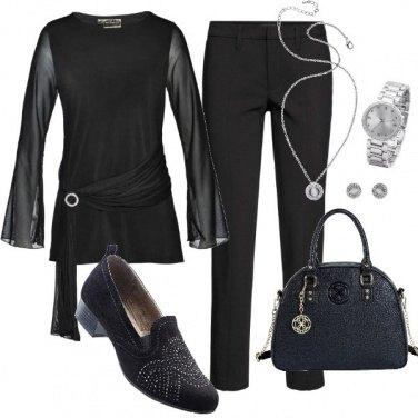Outfit Serata total black...total Bonprix