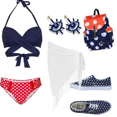 Outfit Pois d\'amare!