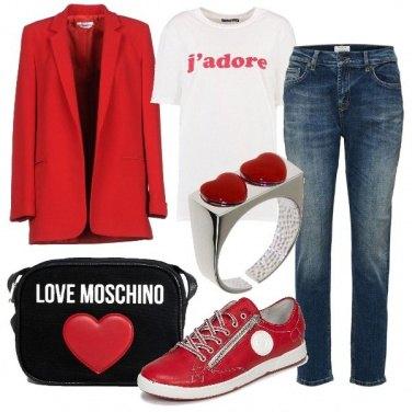 Outfit J\'adore cœurs