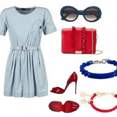 Outfit Moschino dress