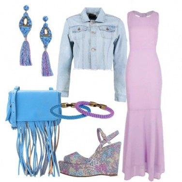 Outfit Il vestito lilla