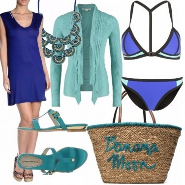 Outfit Snorkel blue e tiffany