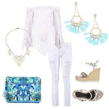 Outfit Portamiconte00 - frange e ancora frange
