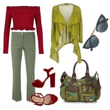 Outfit A pranzo con le amiche
