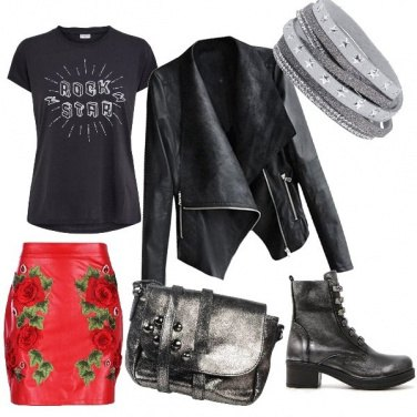 Outfit Rock and Rose