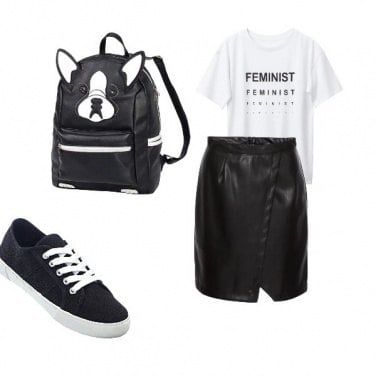 Outfit Black&White