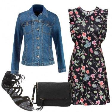 Outfit Abitino a fiori