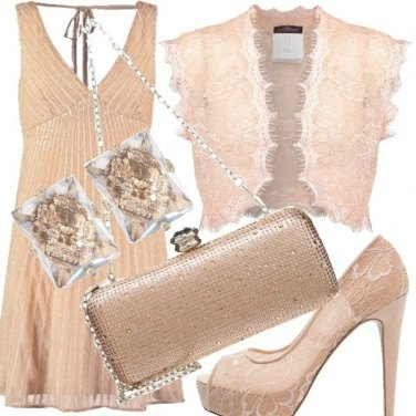 Outfit Rosa raffinatezza