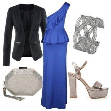 Outfit Monospalla blu