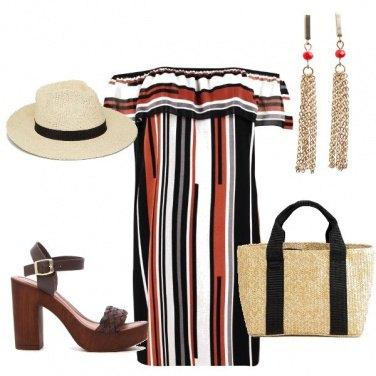 Outfit Righe al mare