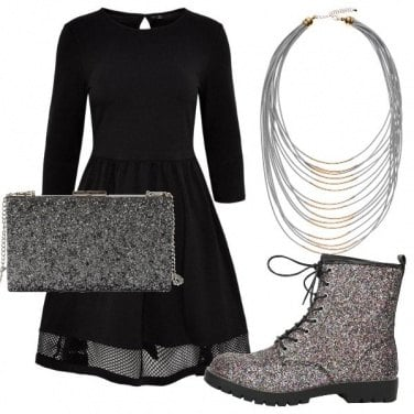 Outfit Urban glitter