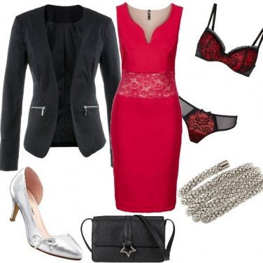 Outfit Red Wedding