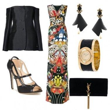 Outfit Serata in abito lungo