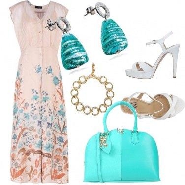 Outfit Profondo turchese