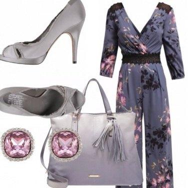 Outfit Tuta jumpsuit...in fiore!