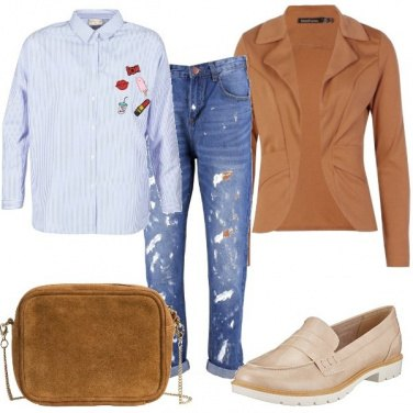 Outfit Jeans e mocassino