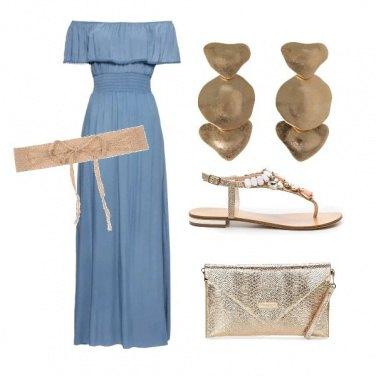 Outfit Festa d\'estate in lungo