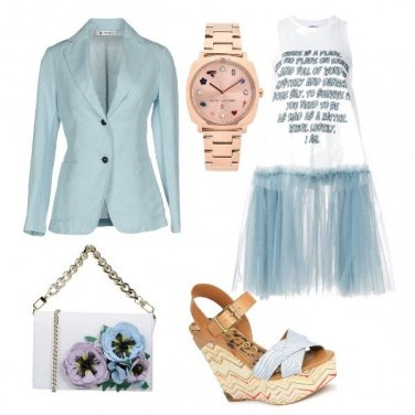 Outfit Casual blue