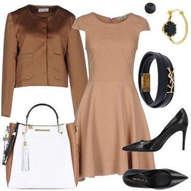 Outfit Tra nero e marrone