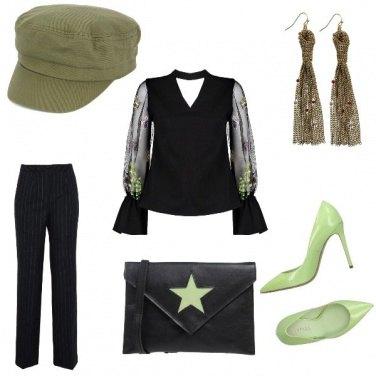 Outfit Salvia e Menta