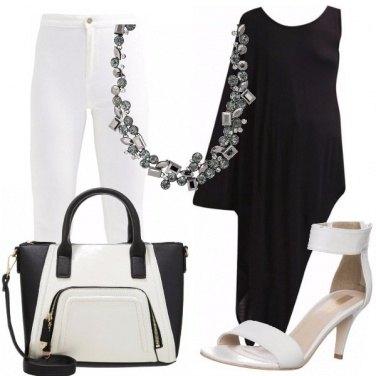 Outfit Urban, chic, bianco e nero!