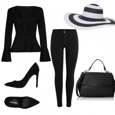 Outfit Woman in balck
