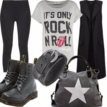 Outfit Rock \'n roll
