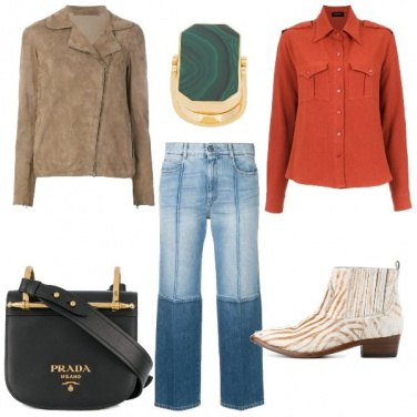 Outfit L\' anello verde