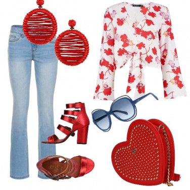 Outfit Voglia di rosso