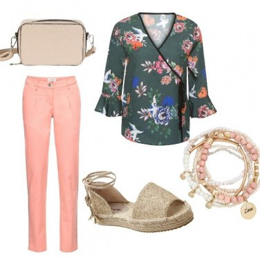 Outfit Kimono all'italiana