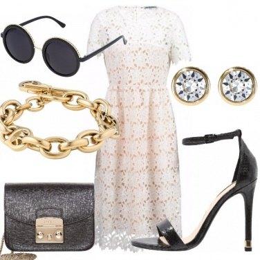 Outfit Non solo bianco e nero