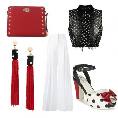 Outfit Pois con stile