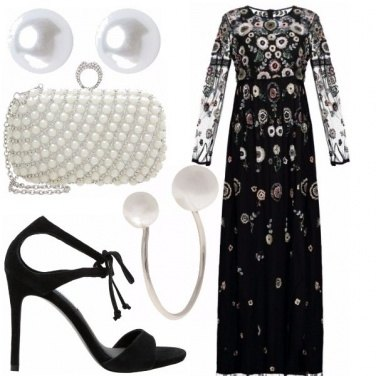 Outfit Romanticamente sofisticata