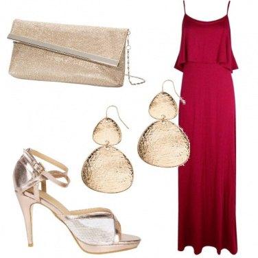 Outfit Matrimonio in rosso