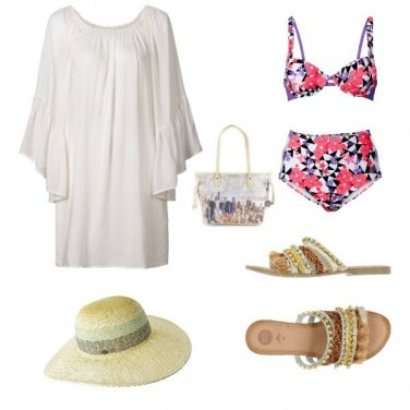 Outfit Spendida in spiaggia