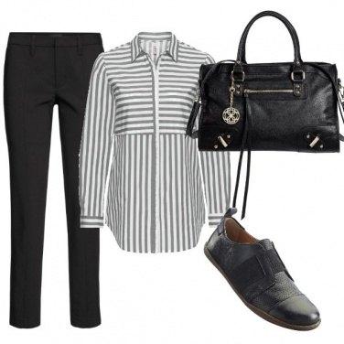 Outfit In ufficio con semplicità