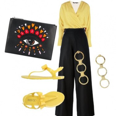 Outfit Yellow way