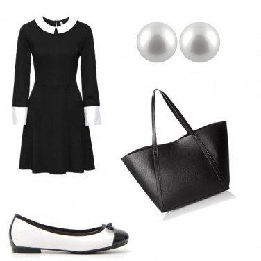 Outfit Bianco & Nero