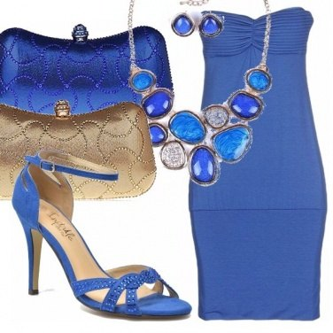 Outfit Blu oceanico