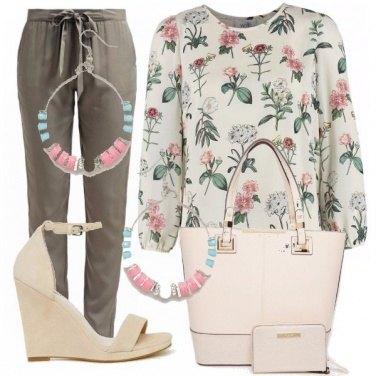 Outfit Al lavoro in primavera
