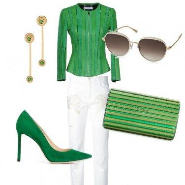 Outfit Note di verde