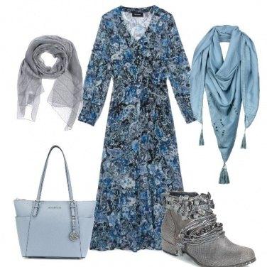 Outfit Come l\'azzurro