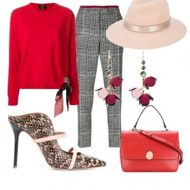 Outfit A passeggio chic