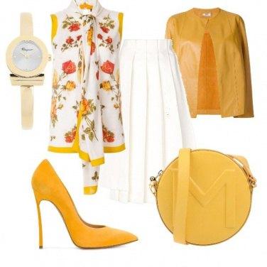 Outfit Il senape